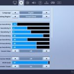 cy0x Fortnite Mouse Settings