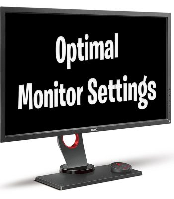 Best BenQ Zowie Monitor Settings