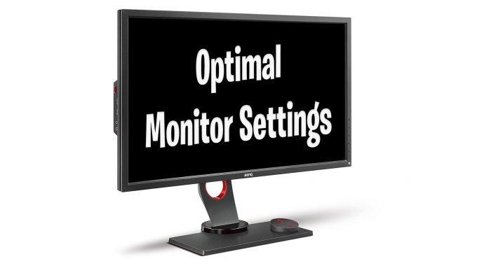 Best BenQ Zowie Monitor Settings