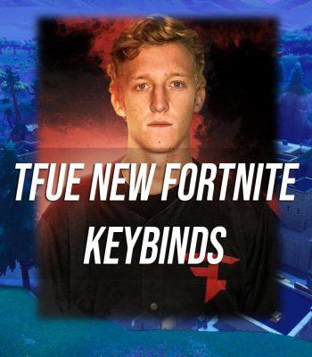 Tfue New Fortnite Keybinds