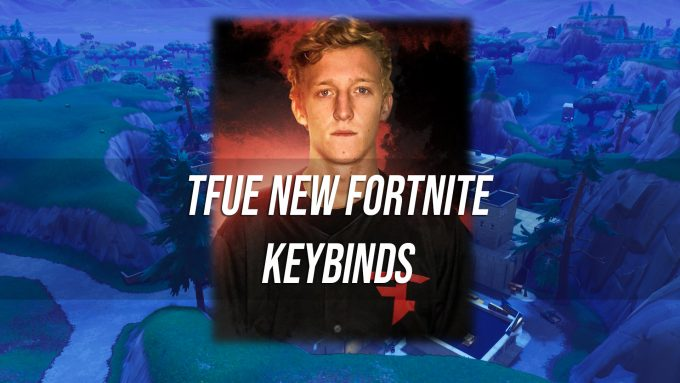 Tfue New Fortnite Keybinds