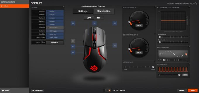 SteelSeries-Rival-600-Software