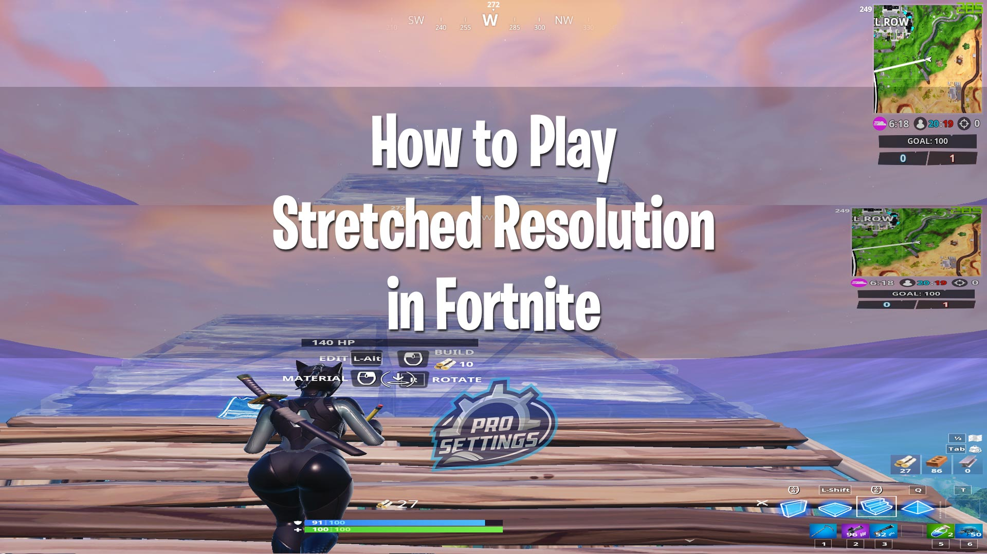 How To Play Stretched Resolution In Fortnite Easy Guide