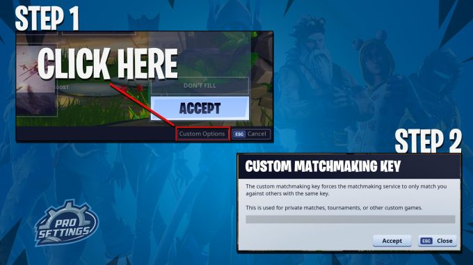 Fortnite Custom Matchmaking How To