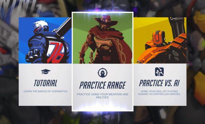 Overwatch Practice Range