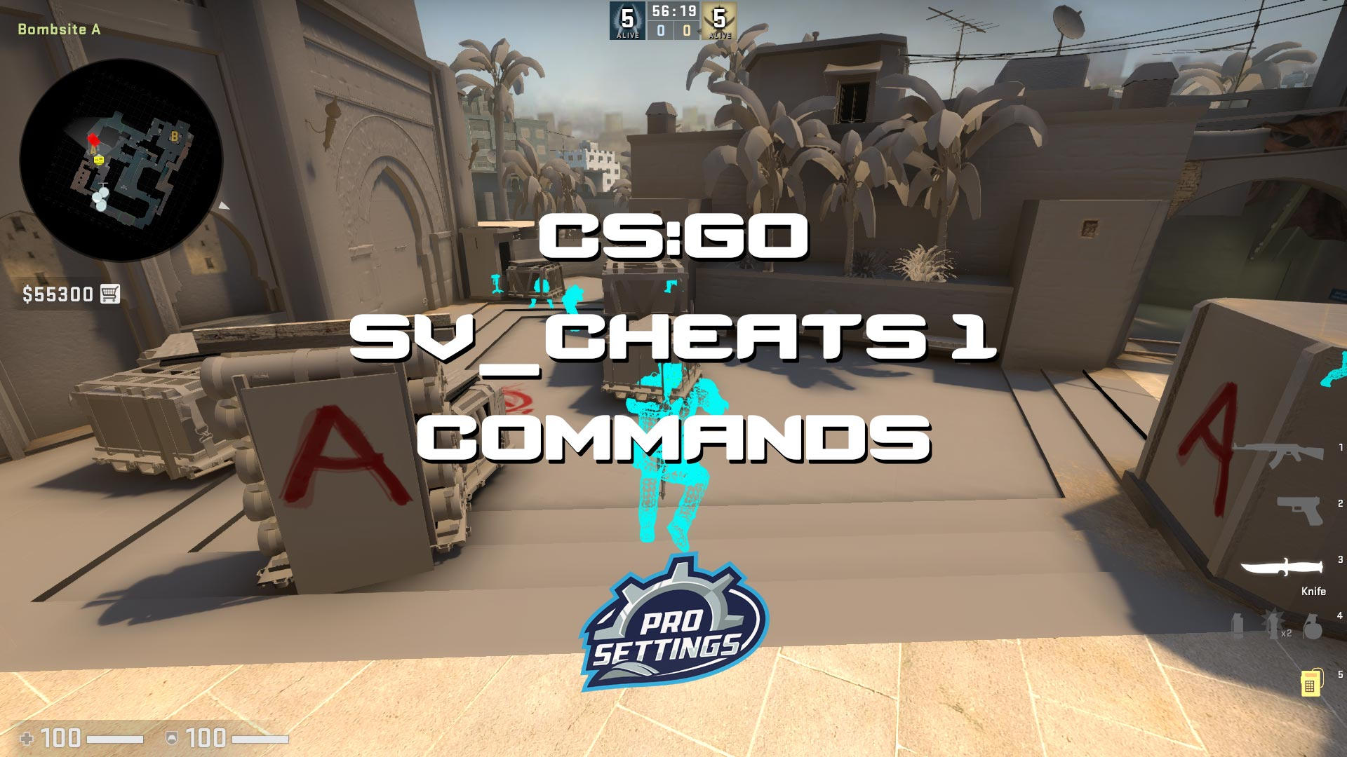 CS:GO SV_Cheats 1 Console Commands Guide 2021 - Download CS:GO SV_Cheats 1 Console Commands Guide 2021 for FREE - Free Cheats for Games