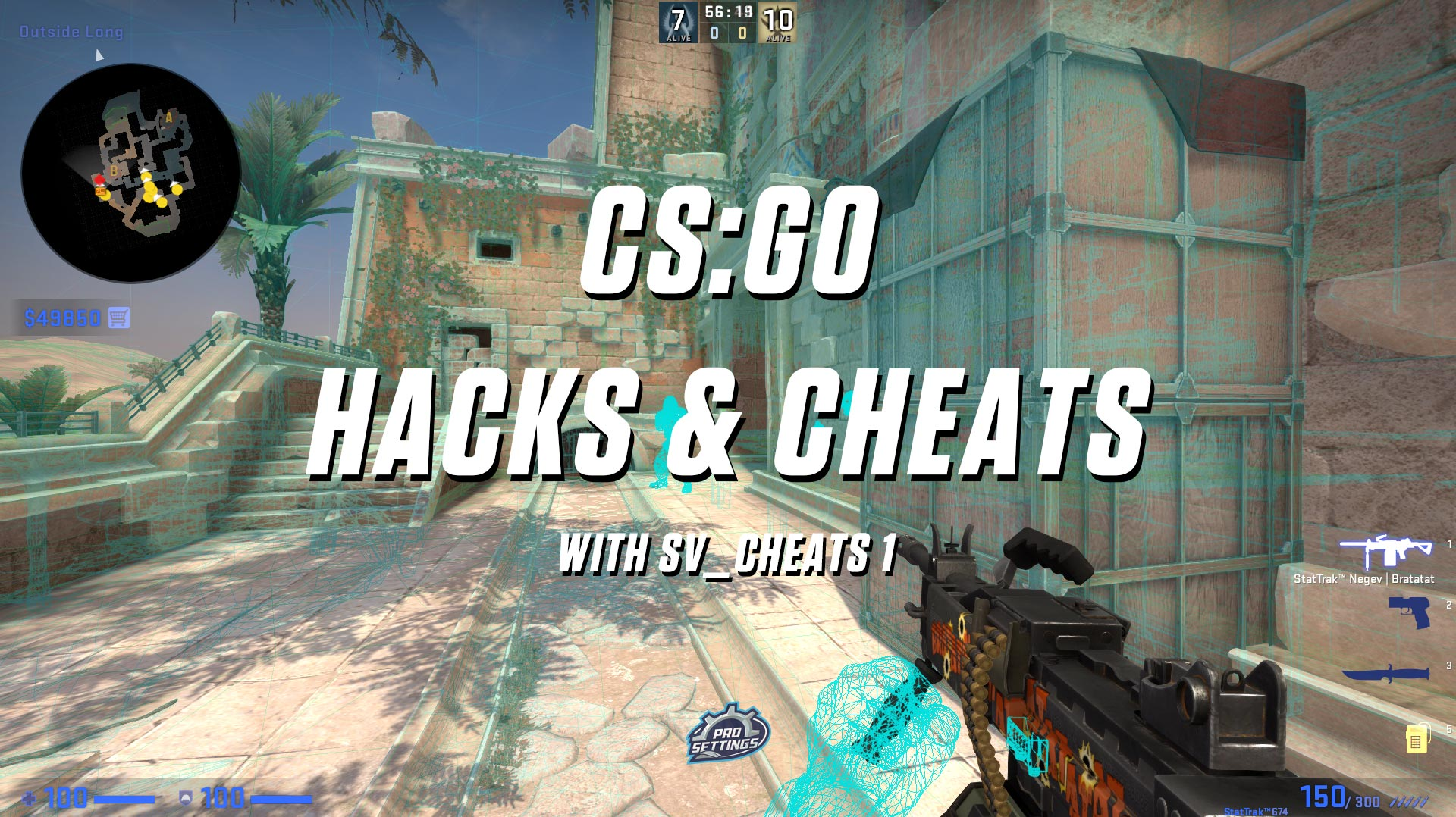 CS:GO Hacks & Cheats with sv_cheats 1 [wallhack + aimbot] - Download CS:GO Hacks & Cheats with sv_cheats 1 for FREE - Free Cheats for Games