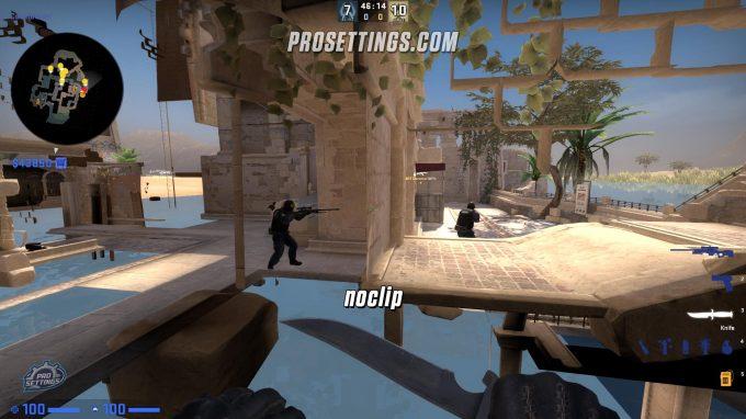 CS:GO Noclip Mode