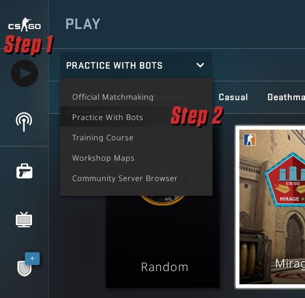 CS:GO Practice with Bots