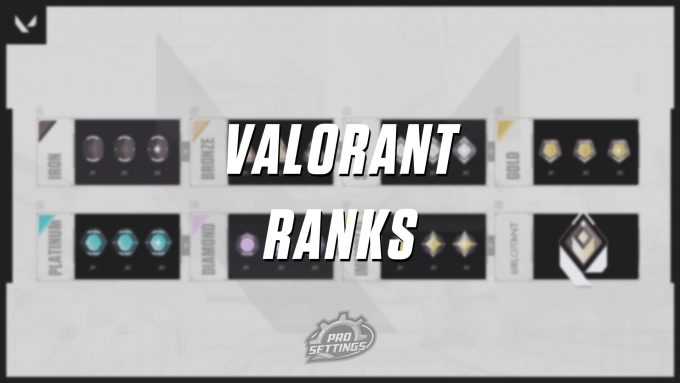 VALORANT Ranks Competitive Matchmaking
