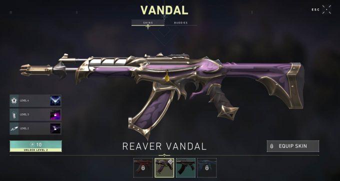 VALORANT Reaver Vandal Skin