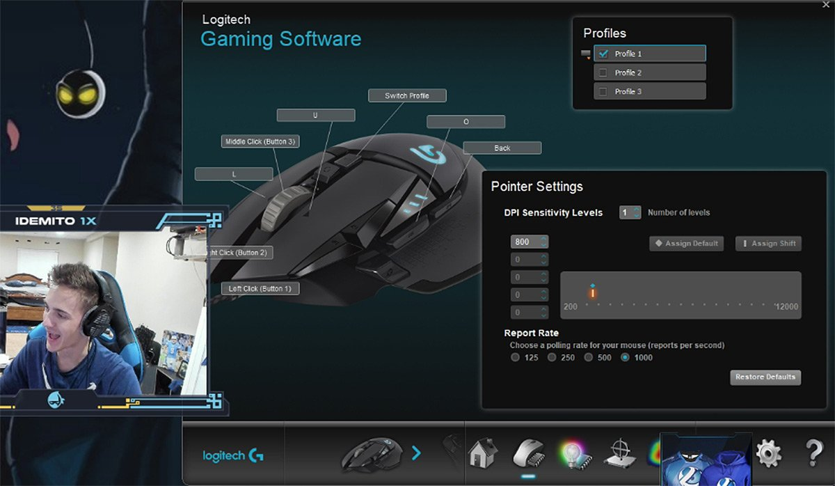 Ninja Fortnite Settings Keybinds Config Gear