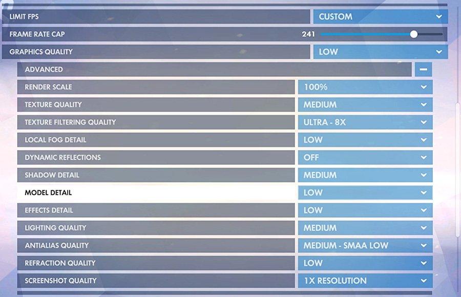 how to set overwatch sensitivity